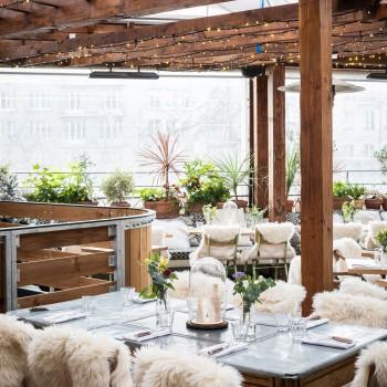 La Brasserie Auteuil dévoile son rooftop d'hiver et sa patinoire